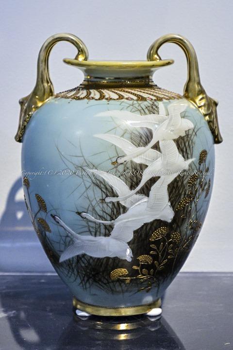 オールドノリタケ飾り壺
